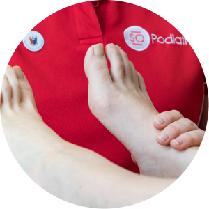 Shockwave therapy from SO Podiatry Worcester